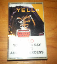 YELLO you gotta say yes to another excess CASSETTE SEALED 1983