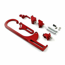 Holley Throttle Cable Bracket Red Blue Black Silver Billet f3