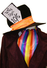 MAD HATTER 10/6 HAT & CRAVAT SET one size fits all