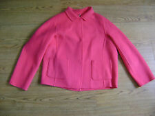 Max Mara coat or jacket.RRP £350.Size 8,may fit 10.Cerise pink.New+tags.Wool