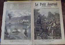 LE PETIT JOURNAL N°29. 13/6/1891.BATAILLES DE FLEURS POUR LES VICTIMES DU DEVOIR