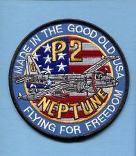 LOCKHEED P-2V P-2 NEPTUNE US NAVY VP- Patrol Squadron Jacket Patch FFF