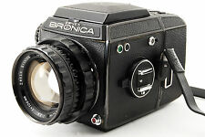 ZENZA BRONICA EC Black ZENZANON 100mm F2.8 lens EXC+++++ from Japan #310
