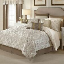 Croscill Madeline 4-pc Reversible West Coast/California King Comforter Set Ivory