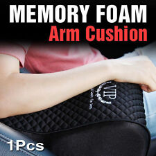 Memory Foam Arm Rest Center Console Box Cushion Pad Cover Black 1Pcs for BMW