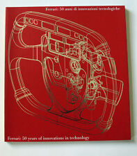 FERRARI 50 YEARS OF INNOVATIONS IN TECHNOLOGY , engl./ ital. 1947-1997
