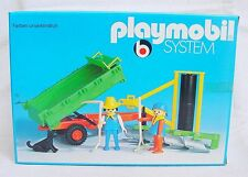 Playmobil System FARMER COUPLE & IMPLEMENTS 2 Klicky Fig. Set #3501 MIB`74 RARE!