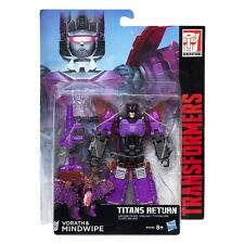 TRANSFORMERS GENERATIONS TITANS RETURN VORATH AND & MINDWIPE DELUXE CLASS NEW