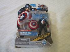 Hasbro Comic Series Captain America Heroic Age Shield Converts to Weapon #05