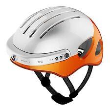 Air wheel C5 Smart Helmet High-Definition Cam,Wifi Bluetooth Headset (L-Orange)