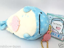 San-X Jinbesan Plush Doll Cell Phone Strap New Character From JAPAN