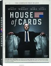 House of Cards - Entire 1st First Season 1- BRAND NEW 4-DISC DVD SET