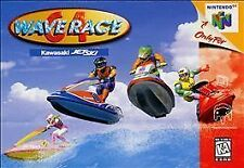 WAVE RACE 64 GAME SYSTEM NINTENDO N64 N 64 NES HQ