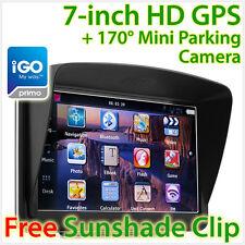 """7"""" GPS Car Navigation System Sat Nav Reversing Camera Navigator Tunez iGO Primo"""
