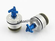 FRONT FORK BOLT FOR YAMAHA SRX400 SRX600 36MM PRELOAD FORK CAP ADJUSTERS