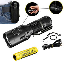 Nitecore MH20GT 1000 Lumen USB Rechargeable LED Flashlight w/ 3400 mAh Battery