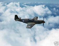 "US Air Force Mustang Mk1 Fighter Inglewood California 1942 World War 2 10x8"""