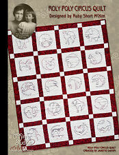 Ruby Short McKim's Roly Poly Circus Quilt Pattern Book • Collector's Edition