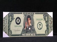 Scarface Canvas Picture Gangster Mafia Tony Montana Smoking Dollar Note Wall Art