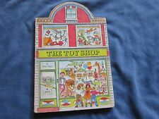 HtF THE TOY SHOP Peter Spier BoaRD BooK 1981 RaRe Find! Nice Condition 1st ed