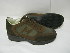 Saldi sneakers in pelle di camoscio colore marrone N°44-45-46