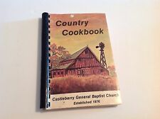 VINTAGE 1984 COUNTRY COOKBOOK FROM CASTLEBERRY GENERAL BAPTIST CHURCH EMPIRE KY