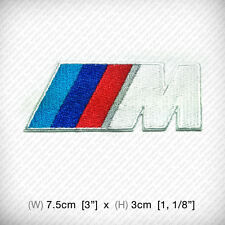 New BMW MPOWER Embroidered Patch Iron on, sew, RACING Sports Automotive RACE CAR