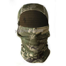 MOTORCYCLE CAMO TACTICAL OUTDOOR BALACLAVA FULL FACE MASK WINDPROOF - 36182
