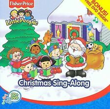 Fisher Price Little People - Christmas Sing Along [CD/DVD]  2 Disc set