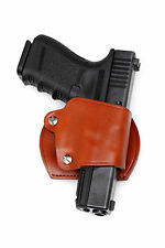 Leather YAQUI Holster - GLOCK (#047 BRN)