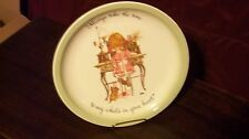 Holly Hobbie Collector Plate Always Take Time to Say What's in Your Heart