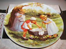 Knowles Office Hours Jeanne Down 2nd issue 1984 Collector Plate Series MIB