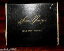 BIG ISLAND HILO IRON WORKS CHRISTMAS ADVERTISING 2 DECK OF PLAYING CARDS HAWAII