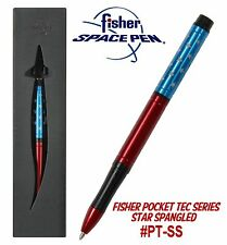 Fisher Space Pen #PT-SS / Star Spangled Anodized Aluminum Pocket Tec Pen