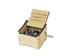 When The Saints Go Marchin In / Personalized Hand Crank Music Box