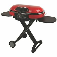 Coleman Roadtrip LXE Portable Matchless Camping/BBQ Grill, Red  | 2000020937NP