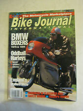 September 1993 Bike Journal International Magazine  (BD-34)