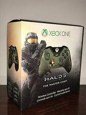 XBOX ONE Microsoft Limited Edition Halo 5 Guardians Master Chief Controller New