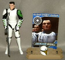 Star Wars CLONE CADET CUTUP Loose From REPUBLIC TROOPERS BATTLE PACK Clone Wars