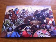Large Collectors Postcard - Campus Mauriacus AD451 Germanic Warriors - NEW