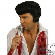 ROCKER WIG HALLOWEEN FANCY DRESS UP NEW FUN ELVIS STAR