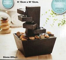 Vintage Stone Effect Water Fountain indoor slate Home decoration - Limited Stock