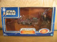 Hasbro Star Wars Attack of the Clones Anakin Skywalker & Swoop Speeder Bike