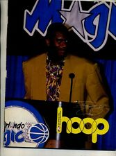 SHAQUILLE ONEAL 1993 HOOP BASKETBALL PROGRAM