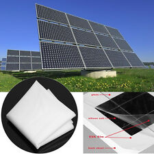 EVA Film Sheet DIY Solar Cell Panel Module Package Encapsulation 1000x500x0.3mm