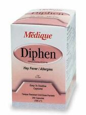 Ten Antihistamine Diphenhydramine 25Mg Capsules - Individually Wrapped