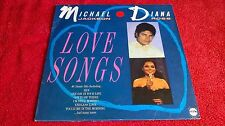 MICHAEL JACKSON / DIANA ROSS - LOVE SONGS .     LP.