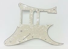 Replacement Pickguard For MIJ Ibanez RG or JEM RG550 - Antique White Pearloid
