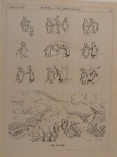 "7x10"" punch cartoon 1935 THE JESTER rurania - hendy"