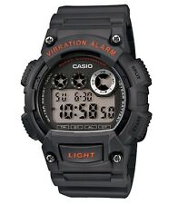 Casio Classic Watch * W735H-8AV Digital Vibration Alarm Dark Grey COD PayPal